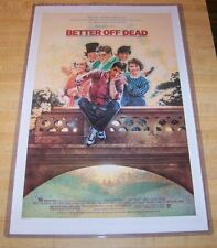 Better Off Dead 11X17 Original Version Movie Poster Cusack Wyss Diane Franklin