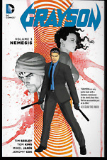 Grayson Vol 3 by Tom King & Tim Seeley 2016, Tpb Dc Comics