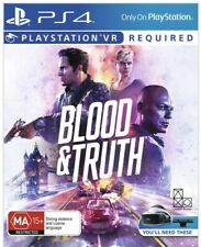 ⚡🔥 Blood and Truth 🔥⚡ PS4 PlayStation 4 BRAND NEW (SEALED) AU ☢️⭐DISCOUNTED⭐☢️