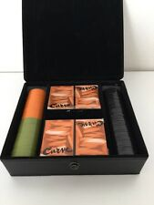 Curve Liz Claiborne Poker Set With Case  Two Decks - 100 Chips