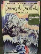 ADVENTURES OF SAMMY THE SNOWFLAKE VOL 1 CHILDRENS AUTHOR SIGNED AUTOGRAPH BOOK