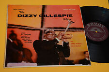 DIZZY GILLESPIE LP STORY 1°ST ORIG USA 1957 SAVOY EX TOP RARE JAZZ !!! COLLECTOR