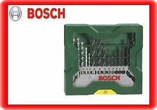 Bosch Mini-X-Line Mixed-Set 15 teilig Bohrer Set Stein Metall Holz