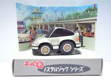 JAPAN TOMY CHORO Q CR-X CRX Si TV BOX VINTAGE SPORT CAR GOLD RARE