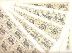 USSR 1987 - n° 5433-37 MNH ** YT 87€ - 14th-16th CENTURY POSTRIDER (5 SHEETS)
