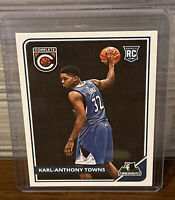 2015 - 2016 Panini Complete Karl-Anthony Towns #303 Rookie Card Timberwolves RC