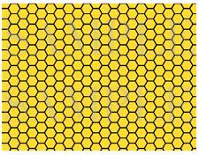 Yellow and Black Cake Wrap Bumble Bee Cake Strips Honeycombs cake Icing Sheet