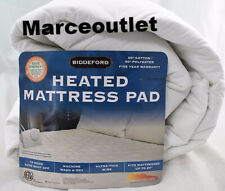 Biddeford Electric Quilted Heated Mattress Pad KING