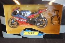 """Altaya Yamaha YZR-M1 2004 1:12 #33 Marco Melandri (ITA) """"Spiderman"""" (JH)"""
