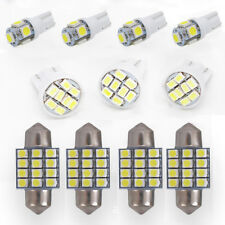 11PCS T10 & 31mm White LED Lights Interior Package For Map Dome License Plate TR