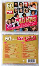 60 JAHRE FUNK UHR 40 Hits aus 60 Jahren - Karel Gott, Demis Roussos,.. DO-CD TOP
