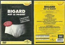 DVD - JEAN MARIE BIGARD MET LE PAQUET ( SPECTACLE HUMOUR ) / COMME NEUF