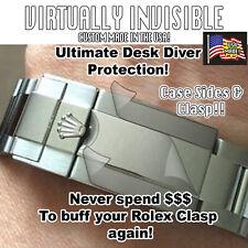 For Rolex Explorer 16570 Crystal, Bezel, Full Clasp, Sides HD Protector Set x2
