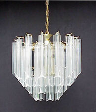 10 Pcs Vintage Murano Glass Italy Chandelier Lamp Part Replacement Spear Prisms | eBay