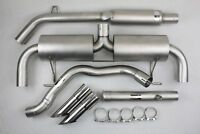 Ligne Inox Clio 3 RS 197 phase 1 Catback 63mm + Decata tube GT Performance