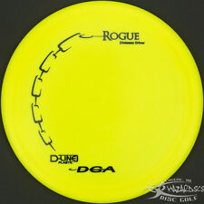 New Yellow D-Line Rogue Distance Driver 171g Dga Disc Golf Black Stamp Fast Ship