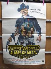 A2426  WEST WORLD ALMAS DE METAL YUL BRYNNER