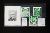 Germany 1950's Stamp Essay Group