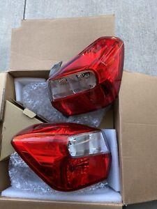2013-2017 Subaru XV Crosstrek Right & Left Tail Light Lamp Lens OEM PERFECT