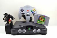 N64 - Nintendo 64 Grey Console (PAL) with Controller & Super Mario 64 Game