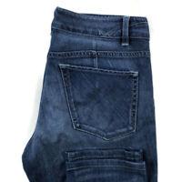 Elie Tahari Womens 6 Blue Skinny Stretch Jeans