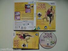 Nintendo Wii Pal Juego su forma de juego sólo ninguna cámara probado