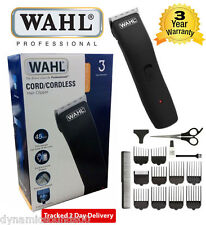 Wahl 9655-417 UOMO RICARICABILE BARBA CAPELLI Clipper KIT Cord / cordless Trimmer Set