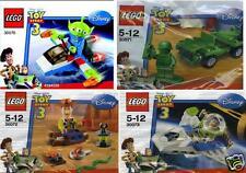 4x LEGO Disney Toy Story3 Alien Soldat Woody Buzz 30070 30071 30072 30073 selten