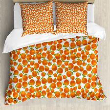 Mandarine Housse de Couette Oranges juteuses bio