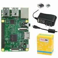 Raspberry Pi 3B Full Octoprint Kit with HD Webcam