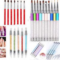 Nail Art Pen Brush UV Gel Acrylic Painting Drawing Liner Polish Brushes Tool Tip
