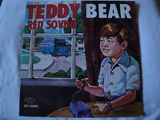 TEDDY BEAR RED SOVINE VINYL LP 1976 GUSTO RECORDS BOOTLEGGER KING, DADDY, STEREO