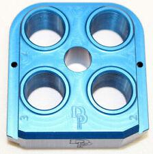 Dillon Precision 62132 Blue Rl 550 Billet Aluminum 4 Station Toolhead Anodized