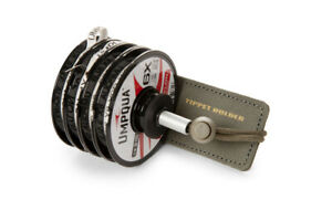 NEW UMPQUA ZS2 TIPPET DOCK TIPPET SPOOL HOLDER IN OLIVE WITH FREE USA SHIPPING