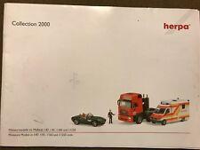 Herpa Collection 2000, Gesamtkatalog,Trucks,Cars,Busse,Lkw,Zubehör,Preisempfehlu