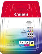 5x Canon encre bci-3e Multipack 4480a265 Cyan, Magenta, Jaune