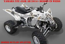 Invision Graphic Kit ATV yamaha yfz 450 04-14,yfz 450r zombie Outlaw BROCHETTES B