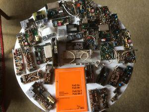 Konvolut 1 Karton versch. Baustufen für Bosch Funkgeräte FUG 8 / FUG 8 SEL