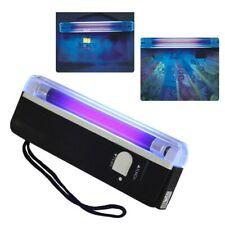 Portable Counterfeit Blacklight UV Light Handheld Torch Bill Money Detector Lamp