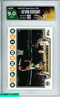 2008-09 TOPPS Kevin Durant #156 2nd YEAR SEATTLE SUPERSONICS HGA 9 MINT