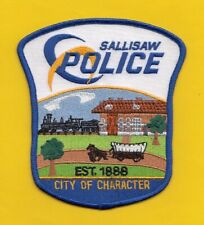 A16 * HTF SALLISAW OK DEPARTMENT STATE POLICE STOCK PATCH