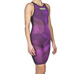 Size 30 Arena Women's Powerskin Carbon Air Open Back Kneeskin