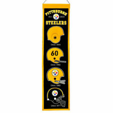 Heritage Banner 8 X 32 Pittsburgh Steelers