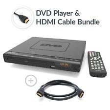 Majority Scholars Compact DVD Player HDMI Upscaling USB Multi Region & HDMI Lead