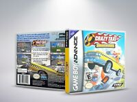 Crazy Taxi: Catch a Ride - GBA - Replacement Cover / Case (NO Game) PAL/US
