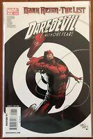 Dark Reign -The List : Daredevil One-Shot Marvel NM 2009