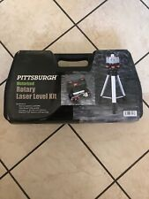 Pittsburgh Motorized Rotary Laser Level Kit 69247