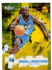2000-01 Topps Finest Gold Refractor Darrell Armstrong #036/100 Magic