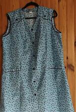 Blouse bleu a rayures blanche et décors marque « Barbe Bleue sofinyl » taille 52