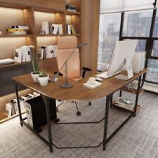 L Shaped Desk Table Home Office Desk Corner Computer Desk Gaming Work Study Desk